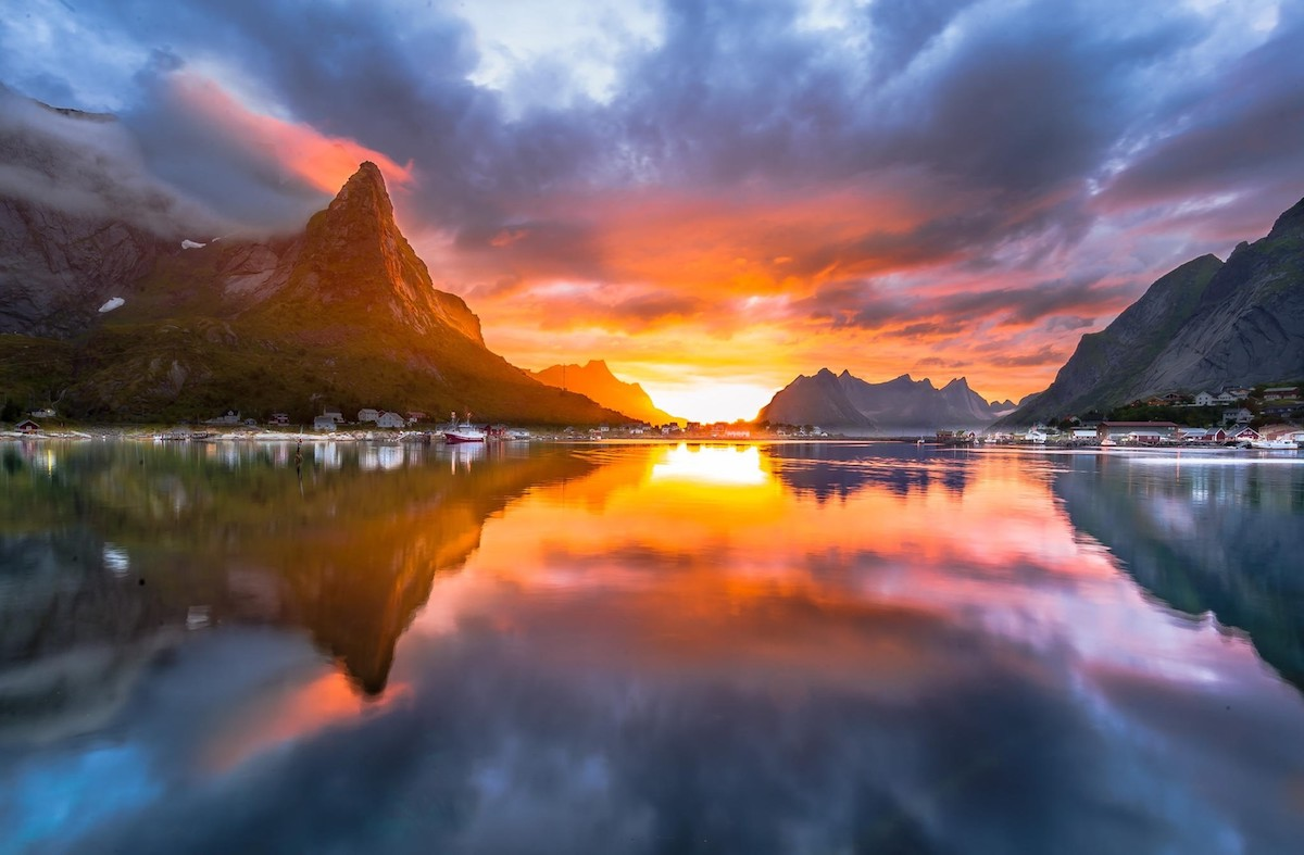 Sunset Norway