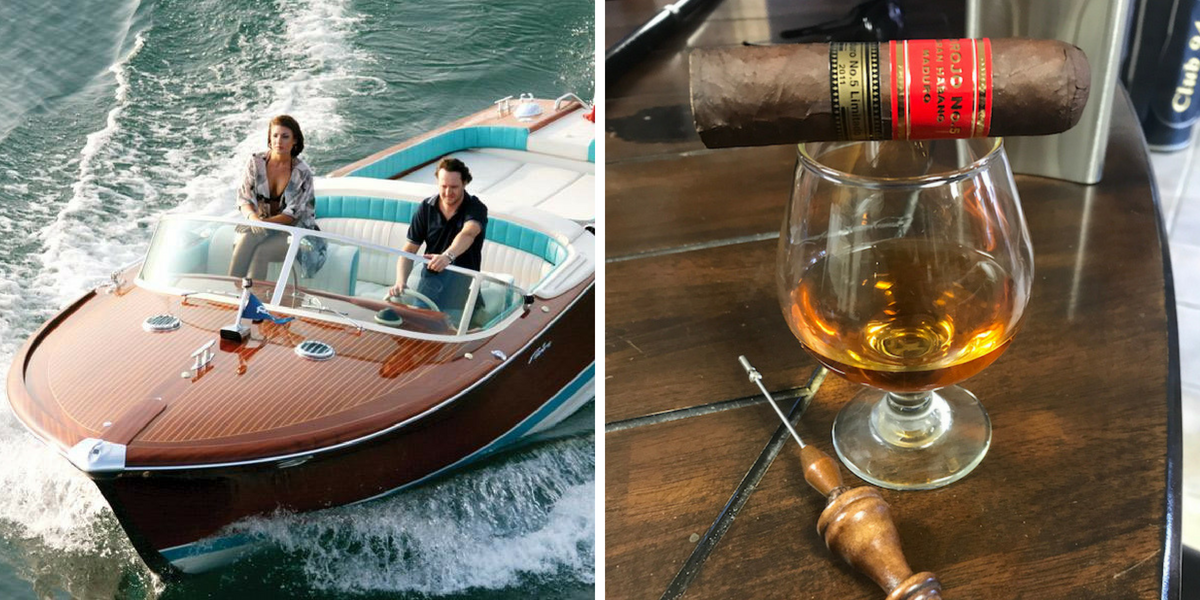 Superyachts and cigars