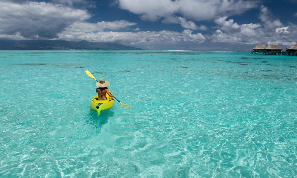 Tahiti kayaking
