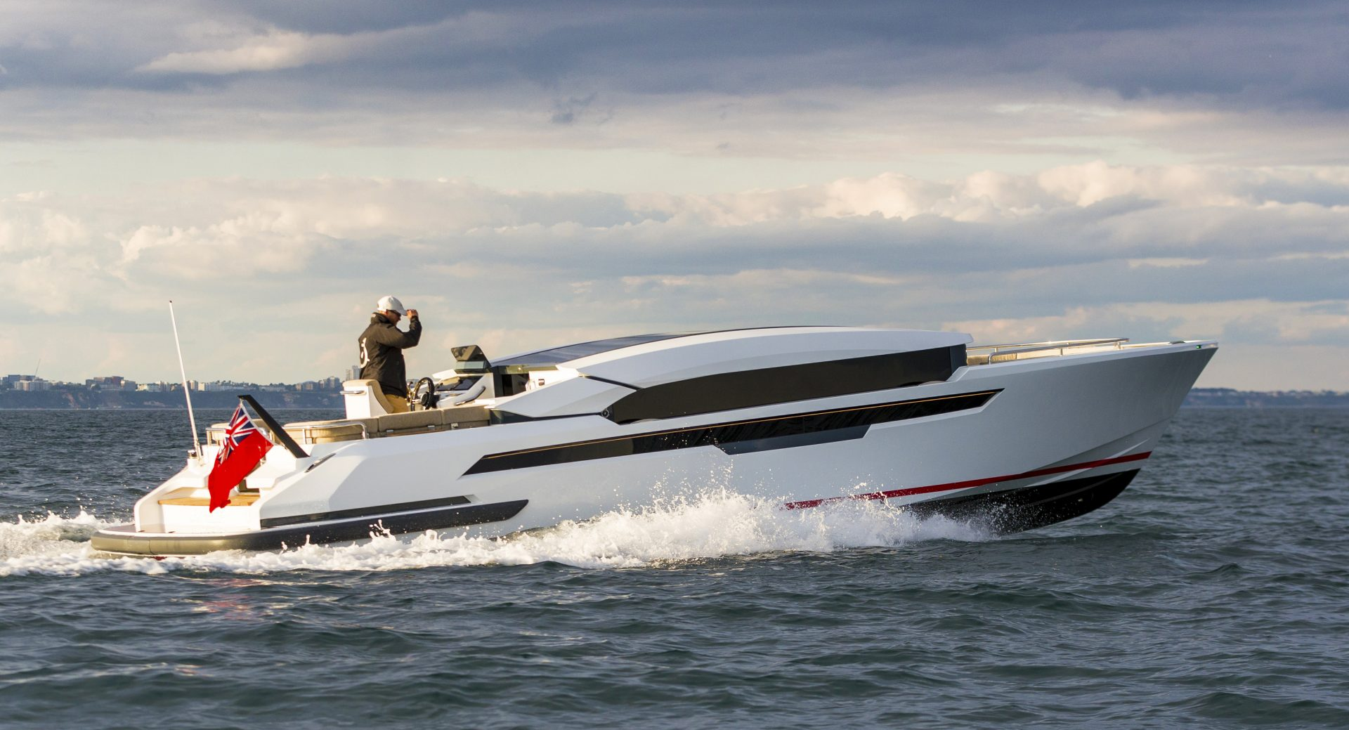 Compass Tenders' 10.9m custom Limousine tender