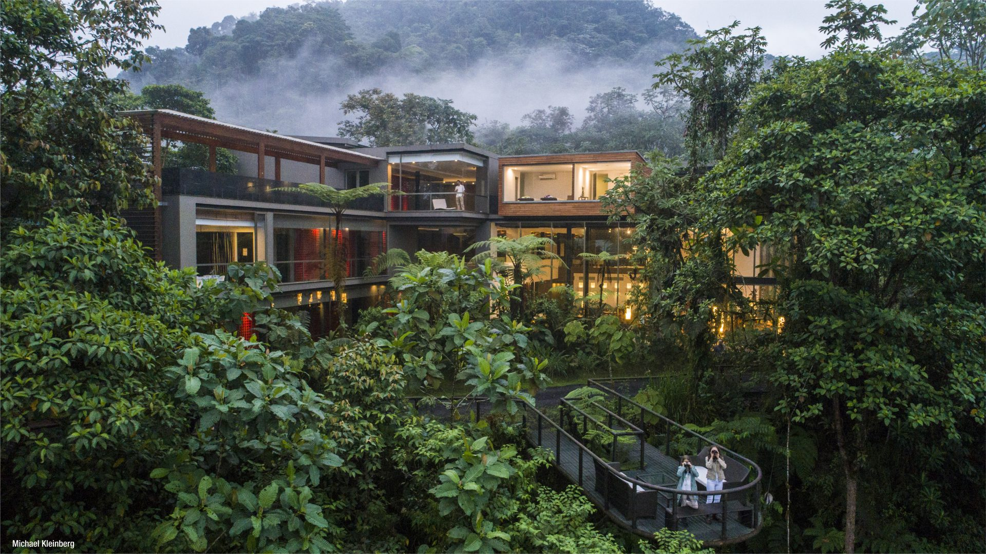 Wellness retreat lodge in Ecuador