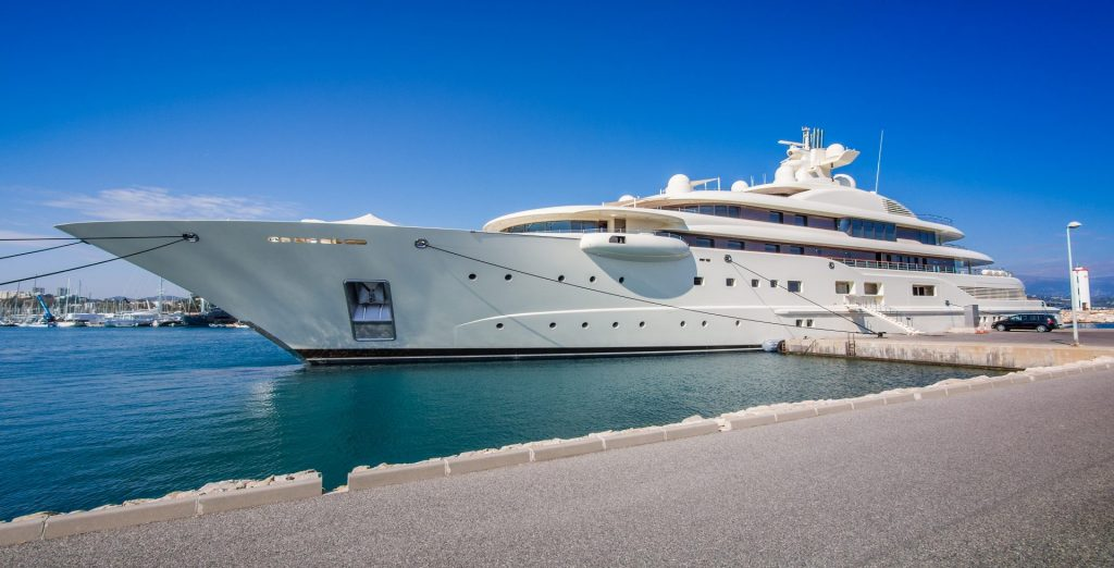 Superyacht in Tunisia