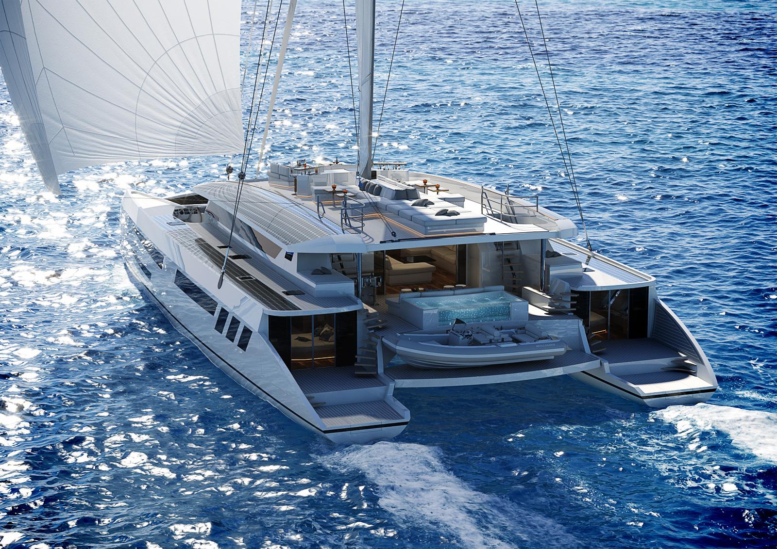 Pajot Yachts catamaran design