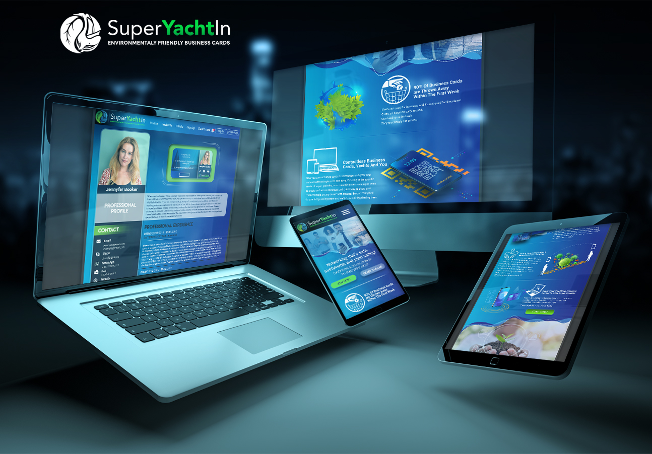 SuperYachtIn allows digital contact sharing across devices