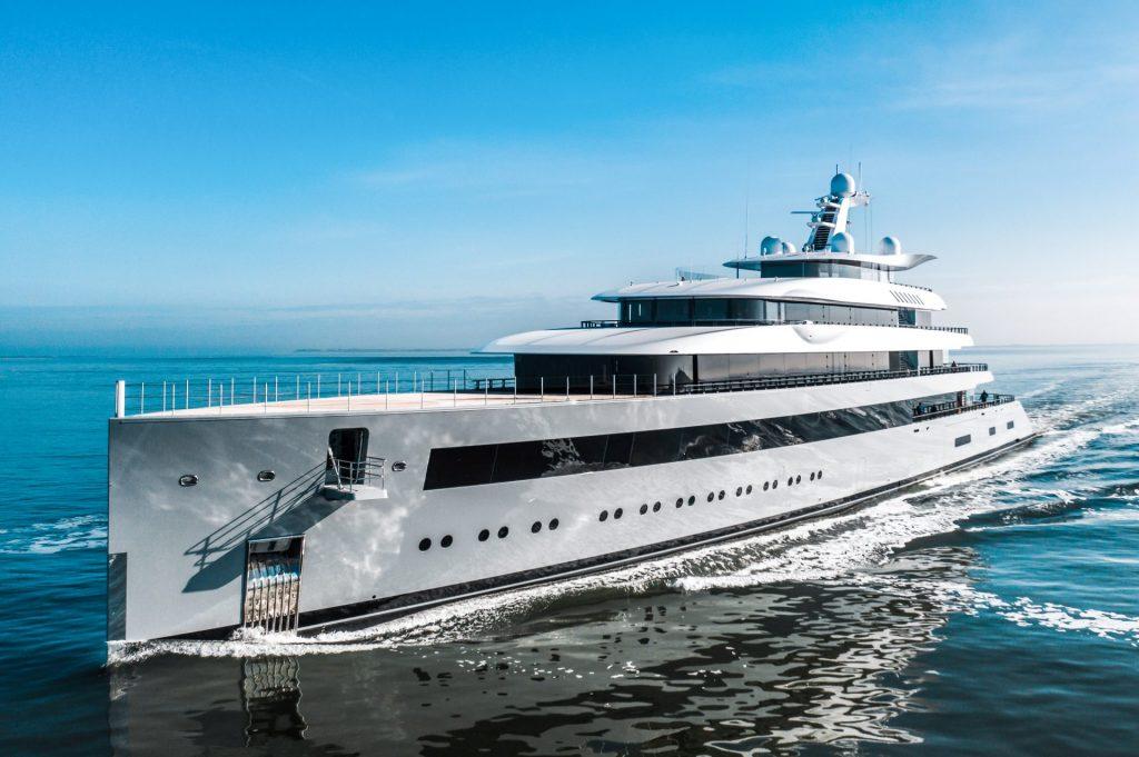 Superyacht Moonrise, built by Feadship