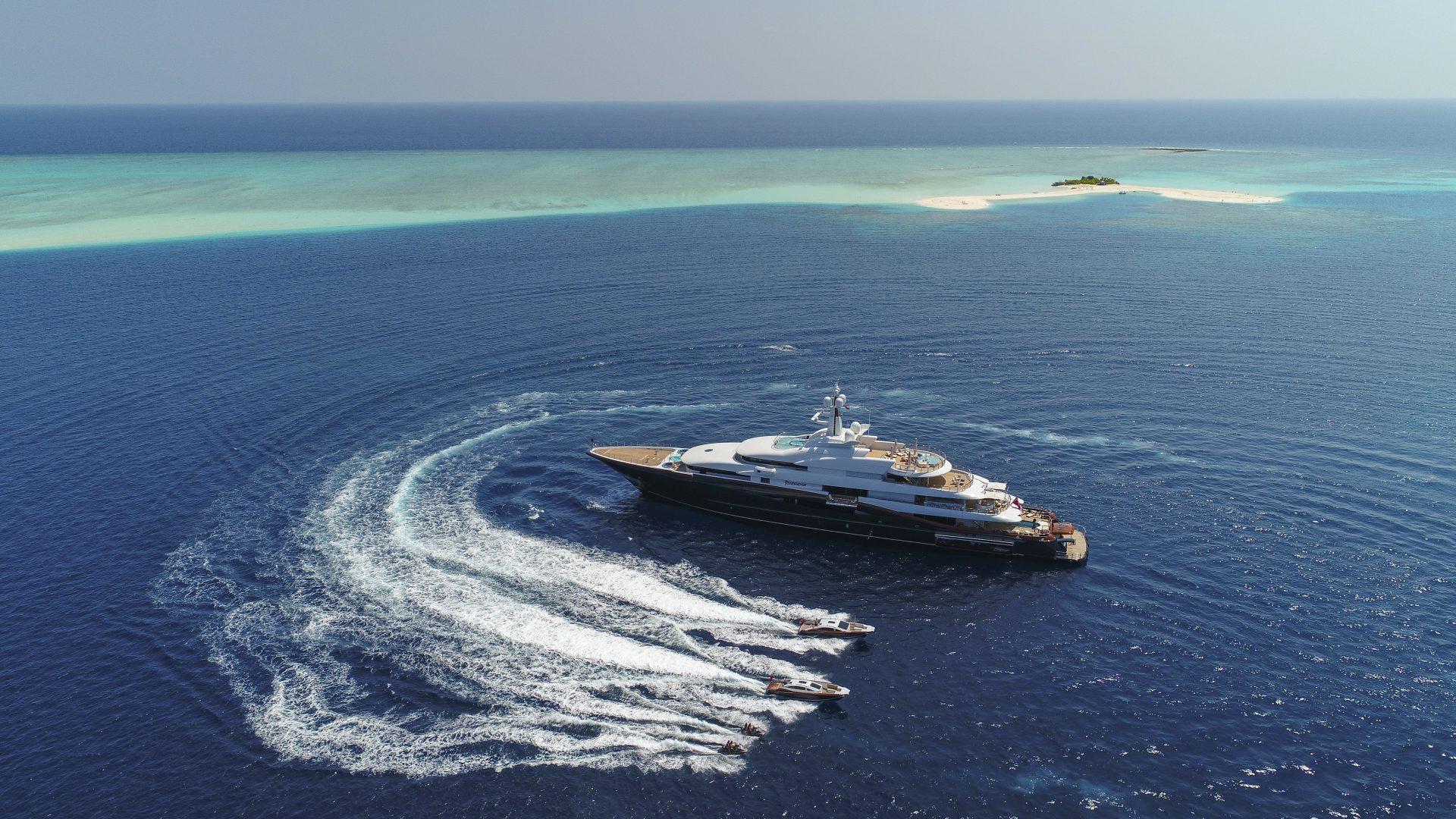 Superyacht charter aboard motoryacht Nirvana